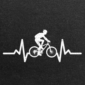 My heart beats for cycling - Jersey Beanie