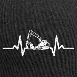 My heart beats for excavators! - Jersey Beanie