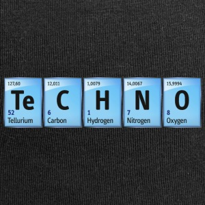 Techno Beat Dance Music Industrial Minimal House - Jersey-Beanie