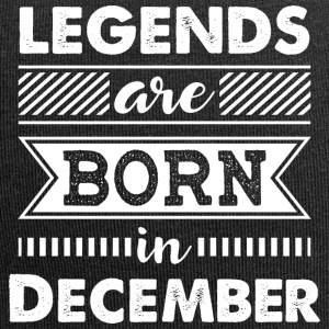 Legends are Born in December - Jersey-Beanie