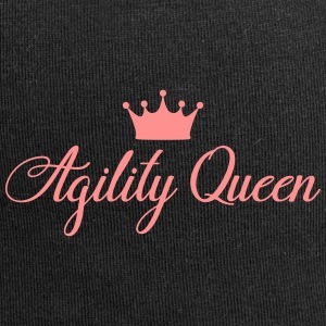AGILITY QUEEN - Beanie in jersey