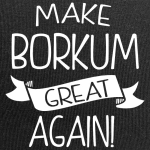 Make Borkum great again - Jersey-Beanie