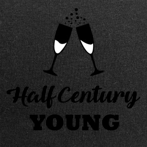 50th birthday: Half Century Young - Jersey Beanie