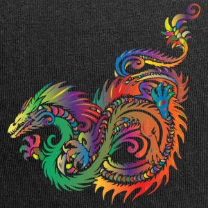 colorful dragon - Jersey Beanie