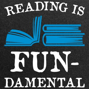 Reading is fundamental - Jersey-Beanie
