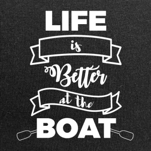 Segeln: Life is better at the boat - Jersey-Beanie