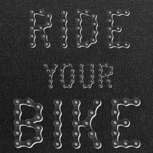 Ride your bike - Jersey Beanie