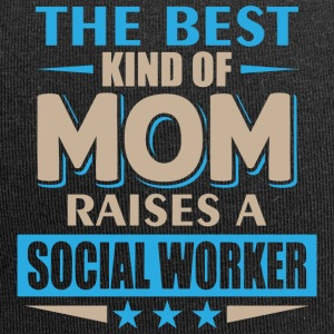 Social Worker Mom - Madre - Beanie in jersey