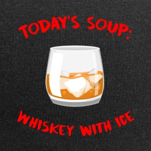Whiskey - Today's Soup: Whisky met ijs - Jersey-Beanie