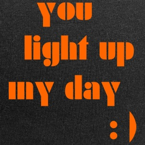 You light up my day - Jersey Beanie