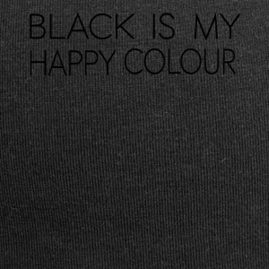 black_is_my_happy_color - Jersey-Beanie