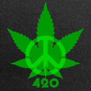 Peace 420 - Jersey Beanie