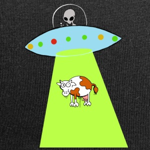 Cow and UFO - Jersey Beanie