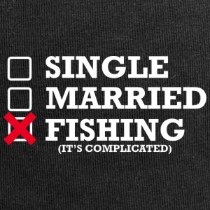 Single, Married, Fishing - Jersey-Beanie