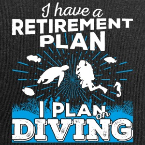 Retirement plan dykking (lys) - Jersey-beanie
