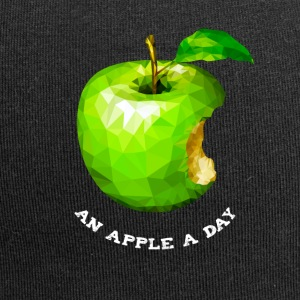 An apple a day Nerd Programmers Pc System grü - Jersey Beanie