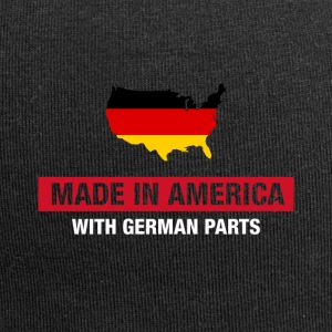 Made In America With German Parts Germany flag - Jersey Beanie