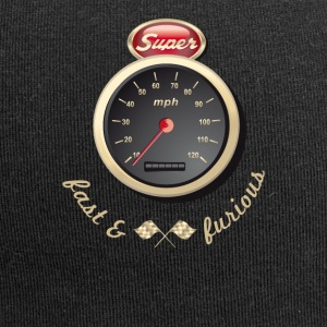 Gasoline Vintage Car car quickly Tacho Tuning km / h - Jersey Beanie