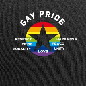 gay_star Fierté astérisque amour Respect fier cs - Bonnet en jersey