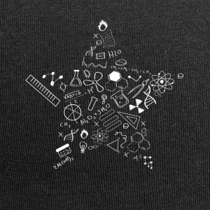 nerd star pi Physics Math Symbols Icon fu - Jersey Beanie