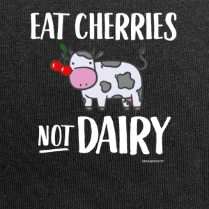 Eat Cherries Not Dairy - Jersey-Beanie