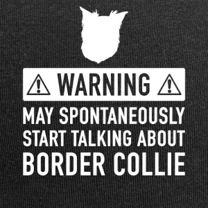 Funny Border Collie Gift Idea - Jersey Beanie