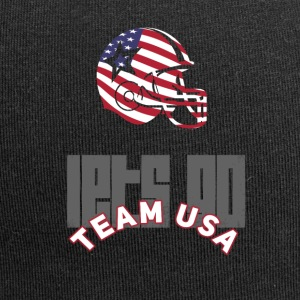 usa Football Touch down flag America Sport defenes - Jersey-Beanie