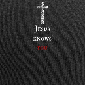 Jesus knows you Jesus knows you - Jersey Beanie