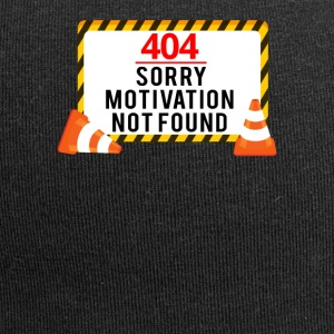 404 - No Motivation! - Jersey-Beanie