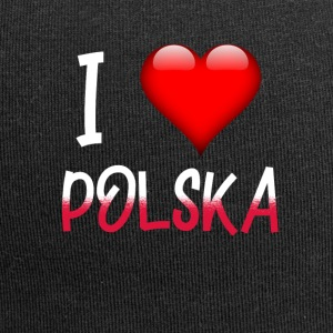 I Love Polska shirt design for Poland - Jersey Beanie
