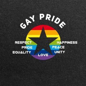 gay Pride Respekt Unity Love equality Peace csd lo - Jersey-Beanie
