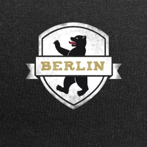 Berlin bear capital travel souvenir wall coat of arms - Jersey Beanie