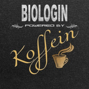 Biologin powered by Koffein - Jersey-Beanie