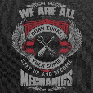 All are born equal mechanic - Jersey Beanie