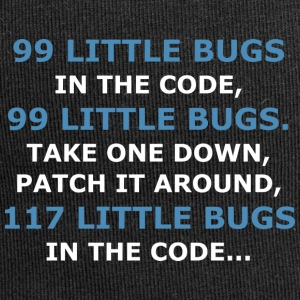 99 LITTLE BUGS IN THE CODE - Jersey Beanie