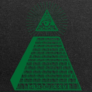 Eye of Providence - Beanie in jersey