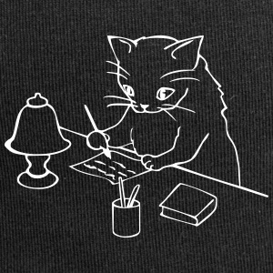 Cat writes a letter - Jersey Beanie