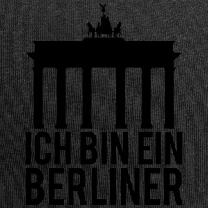I AM A BERLINER - Beanie in jersey