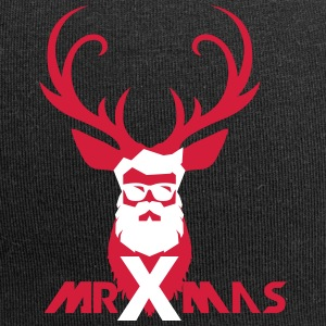 MrXmas_Shirt_red - Jersey Beanie