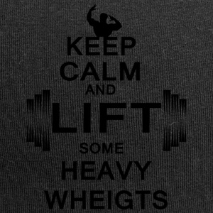 KEEP CALM lift some heavy weights - Jersey-Beanie
