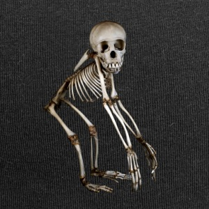 Baby Chimp Skeleton by Wild World Designs (WWD) - Jersey Beanie