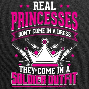 REAL PRINCESSES soldier - Jersey Beanie