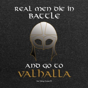 Real Men go to Valhalla - Jersey Beanie