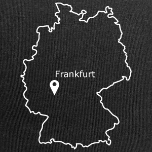 Place to be: Frankfurt - Jersey-Beanie