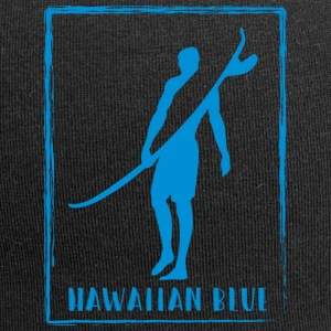 Logo Hawaiian Blue Surfer - Beanie in jersey