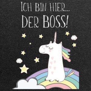 Unicorn is the boss! - Jersey Beanie