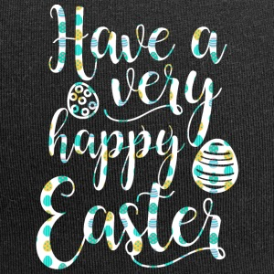 Easter / Easter Bunny: Have a very happy Easter - Jersey Beanie