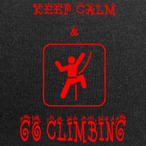 GO_CLIMBING - Beanie in jersey