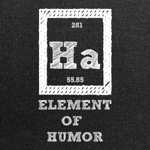 Periodic table: Ha - Element of Humor - Jersey Beanie