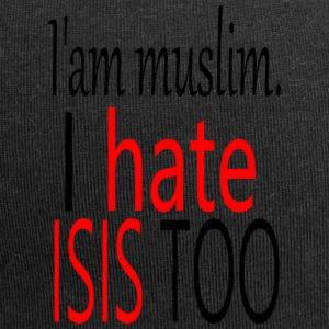 iam muslim. i hate isis too - Jersey-Beanie